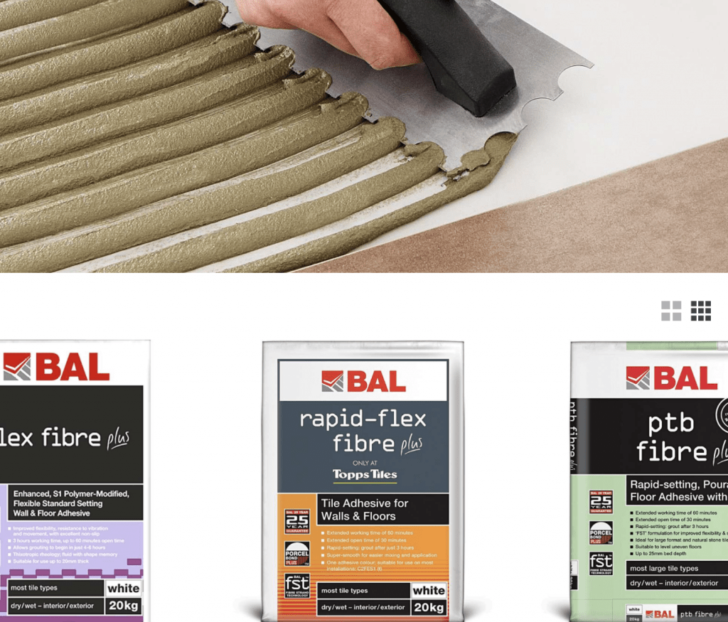 which tile adhesive - here is what you need to know